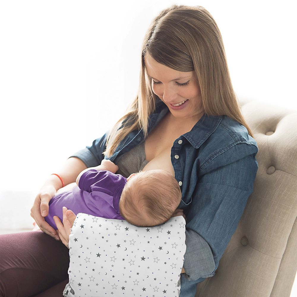 breastfeeding pillow cradle hold